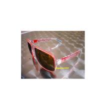 Óculos Absurda Calixto Vermelho Lentes Espelhado