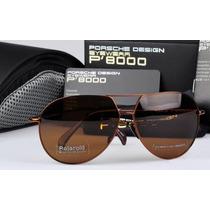 Oculos Porsche Design Polarizado - Preto Ou Marrom- Original