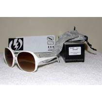 Óculos De Sol Feminino Electric - Modelo Bibidahl - Branco