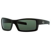 Óculos Solar Hb Riot Polarizado Matte Black - Frete Gratis