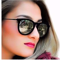 Rayban Feminino Erika Veludo Valvet Importado Oculos De Sol