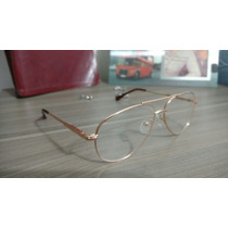 Armacao P/ Oculos De Grau Masculino Aviador Gcci Otica