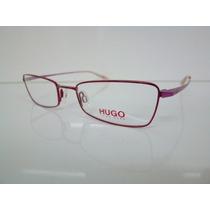 Armação Óculos Hugo Boss Hg 15606 Vermelha E Pink Unissex
