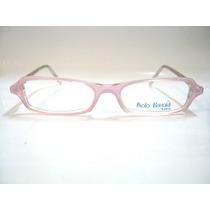 Óculos Em Acetato Para Lentes De Grau - Armação Rosa
