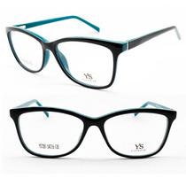 Armação Feminina Acetato Para Óculos De Grau - 7281 C580
