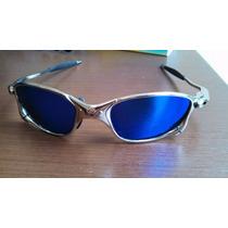 Óculos Oakley Juliet - Lente Azul Polarizado + Brinde - Aaa+