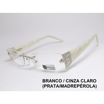 Armação Óculos Feminino Sem Aro Balgriff Flutuante 11350 Mj