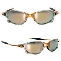 Oculos Sol Oakley Juliet X Metal 24k C/ Caixa - Frete Grátis