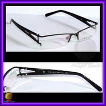 Óculos De Grau, Armação, Aro E Haste Pretos Pr517hv