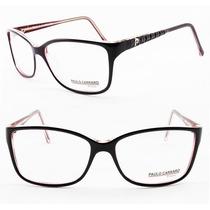 Armação Para Óculos De Grau Feminina Paulo Carraro Retrô