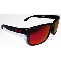Oculos Holbrook Ducati Black Brilho Lente Red Ruby Usa