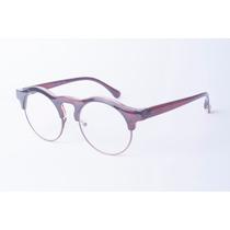 Armação Redonda / Redondo Retrô Vintage P/ Óculos De Grau