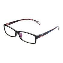 Armação Óculos Para Grau Flexível Preto Brilhoso 2208 C63 Mj