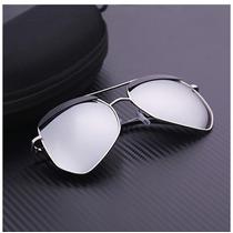 Óculos De Sol Retro Lentes Polarizada Uv400 Sunglasses