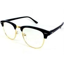 Óculos/ Armação/ Para Grau Club Master Estilo Unisex