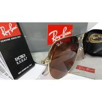 Ray Ban 3025 Dourado Lente Rosa_modelo Novo