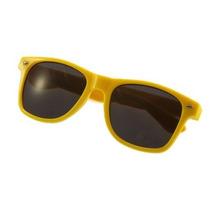 Óculos Escuros De Sol Estilo Wayfarer Amarelo Escuro