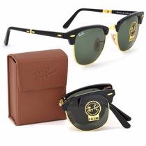 Oculos Rayban Clubmaster Dobravel Espelhado Promoção 50% Off