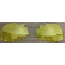 Lentes Reposição P\ Óculos Oakl. Split Jacket -amarela Clara