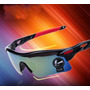 Óculos De Sol Esportivo Ciclista + Case E Flanela De Limpeza