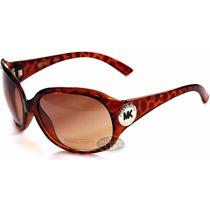 Óculos De Sol Michael Kors Marrom Tartaruga Novo Original Mk