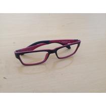 Armação De Oculos Oakley De Grau Masculino