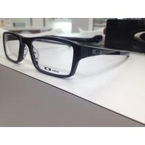 Oculos Receituario Oakley Chamfer Ox8039-0153 Santin Black