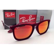 Oculos Ray Ban Chris Velvet Rb4187 Espelhado+ Frete Gratis