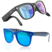 Ray Ban Rb 4105 -2140 Wayfarer Colors Dobravel + Garantia