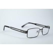 Armação Óculos Grau Cinza Em Metal E Acetato Opmm034 C02 Mj