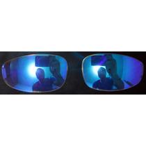 Lentes Clear Azul P\ Óculos Oak. Juliet
