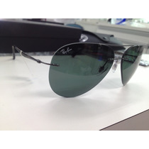 Oculos Solar Ray Ban Light Ray Rb8055 004/71 Estilo Aviator
