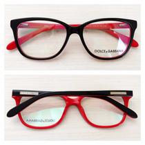 Armação Óculos De Grau Acetato Feminino Dolce Dg751