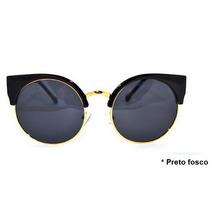 Óculos De Sol Retrô Vintage Estilo Gatinho + Brinde !