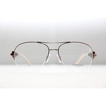 Armação Ana Hickmann Aviador Duo Fashion Óculos Para Grau