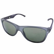 Óculos Mormaii Lances Cinza Fosco E Haste Preta/lente Cinza