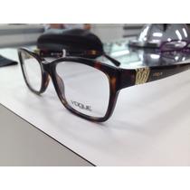 Oculos Armação Vogue Vo 2765-b W656 53 Original Pronta Entre