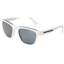 Armani Exchange Oculos De Sol Dobrável Ax4012 Branco E Preto
