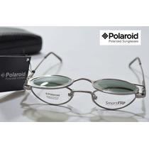 Armação / Óculos De Sol Flip Polarizado Polaroid Original