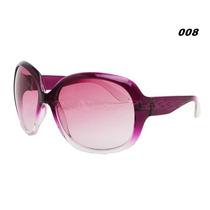 Óculos De Sol Feminino Importado Rosa Roxo Moderno E Chic