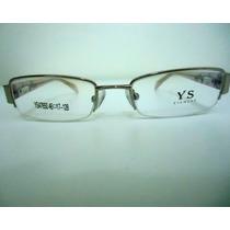Armação Óculos De Grau Infantil Ys47650 Rosa Frete Grátis