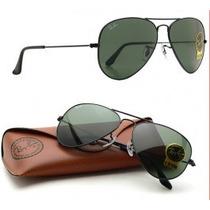 Oculos Ray Ban Aviador 3025 Varias Cores Frete Gratis