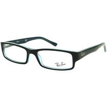 Óculos De Grau Ray Ban Rb 5246 Preto/azul Feminino Original