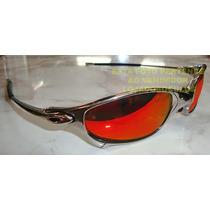Oculos Juliete Poliched Lente Fire Red Polarizada Uv/uva400