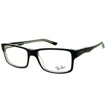 Armação Para Óculos De Grau Ray Ban Rb 5245 Preta Masculina