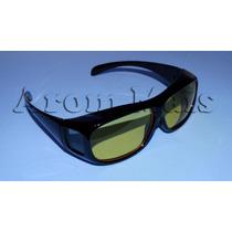 Óculos Visão Noturna Para Dirigir A Noite 400 Uv Polarizado