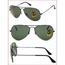 Oculos Ray Ban Aviador 3025 Lindas Cores - Frete Gratis