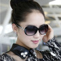 Óculos De Sol Feminino Clássico Lentes Degradê (big Size)