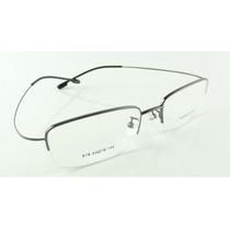 Armação Grafite Óculos Grau Titanium Grande Multifocal A743