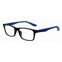 Armação De Óculos De Grau Emborrachado Colorida Com Brinde